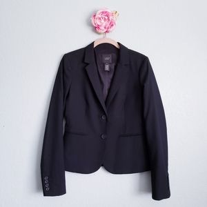 J. Crew Super 120's Aubrey Wool Blazer in Black